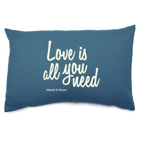 Personalised Love is all you need Cushion
