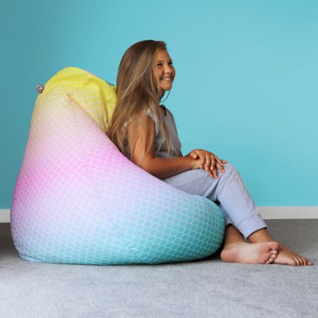 Mermaid Ombre Extra Large Classic Beanbag
