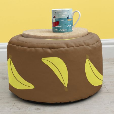 Monkey Kids Bean Bag Stool