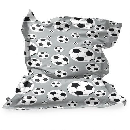 Football Squarbie Beanbag - Junior - Platinum Grey