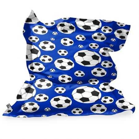 Football Squarbie Beanbag - Junior - Royal Blue