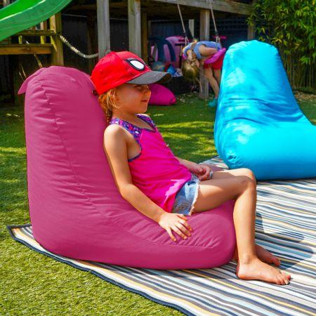 Beanbag Chair - Indoor/Outdoor - Little Kids - Cerise Pink