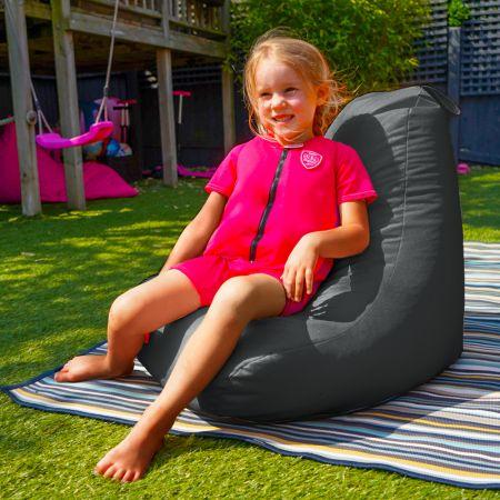 Beanbag Chair - Indoor/Outdoor - Little Kids - Slate Grey