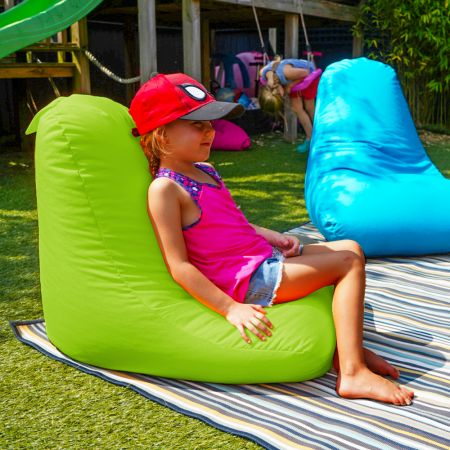Beanbag Chair - Indoor/Outdoor - Little Kids - Lime Green