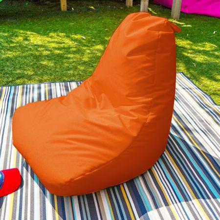 Beanbag Chair - Indoor/Outdoor - Little Kids - Orange