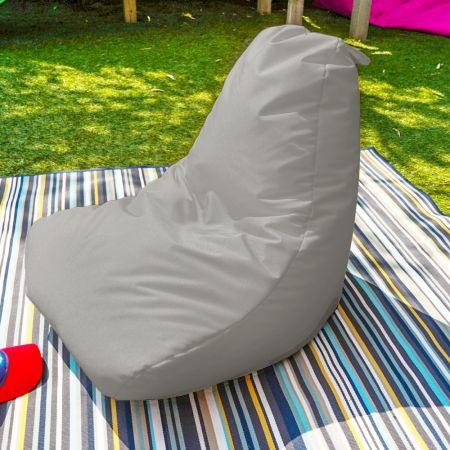 Beanbag Chair - Indoor/Outdoor - Little Kids - Platinum Grey
