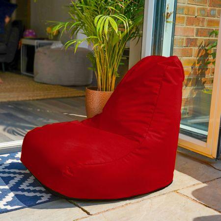 Beanbag Chair - Indoor/Outdoor - Little Kids - Red