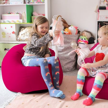 Comfy Kids Classic Cerise Pink Bean bag