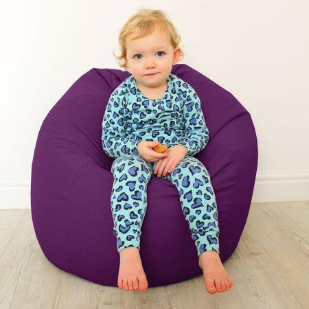 Kids Classic Beanbag - Purple