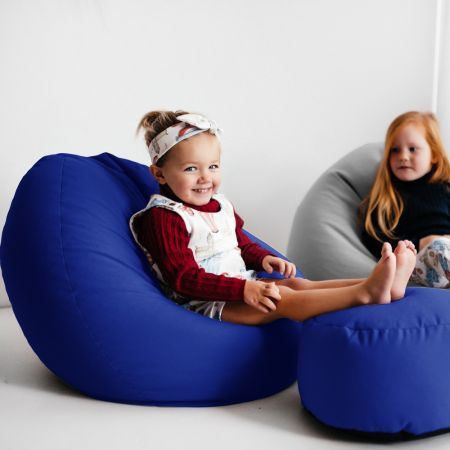 Comfy Kids Classic Royal Blue Bean bag