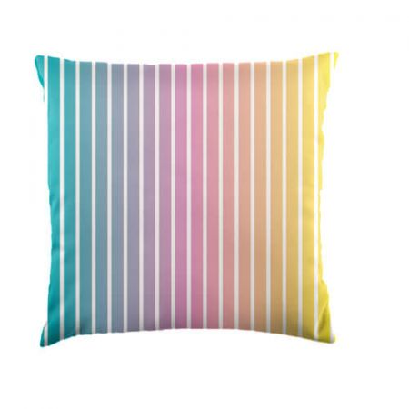 Ombre Stripe Cushion - Indoor/Outdoor