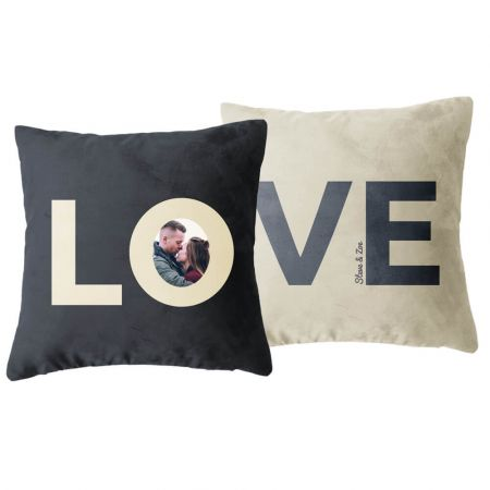 Personalised Pair of Love Cushions