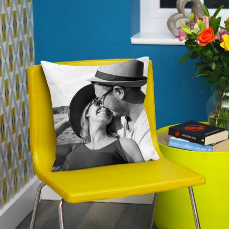 Personalised Photo Cushion for Valentines Day