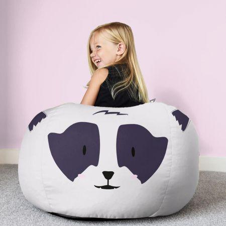 Raccoon Kids Beanbag