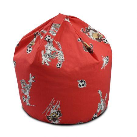 Bugs Bunny & Taz Red Handle Beanbag - Small
