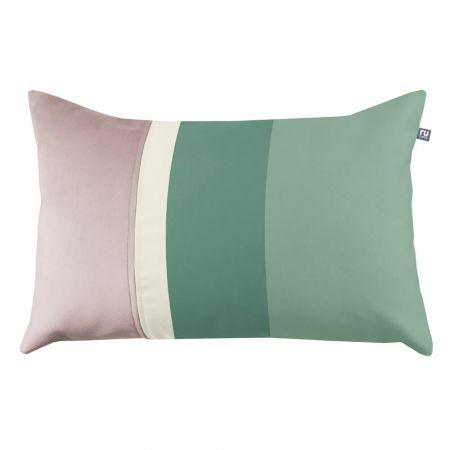 Striped Cushion - Sage