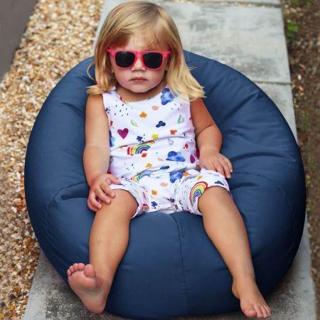 Small Kids Beanbag - Indoor/Outdoor - Royal Blue