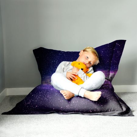 Space Galaxy Squarbie™ Bean Bag - Large