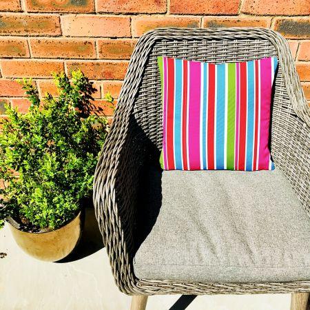 Original Summer Stripes Indoor Outdoor Cushion