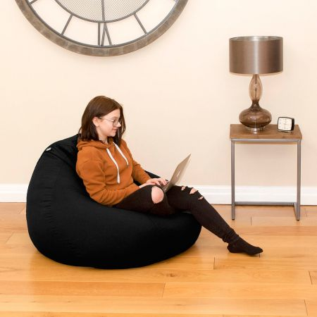 Trend Extra Large Slouchbag Bean Bag In Black