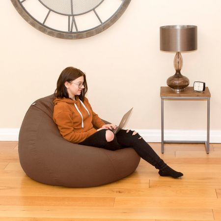 Trend Extra Large Slouchbag Bean Bag In Taupe