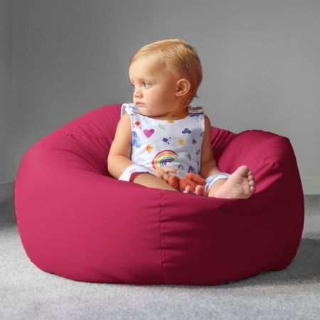Trend Small Kids Beanbag In Cerise Pink