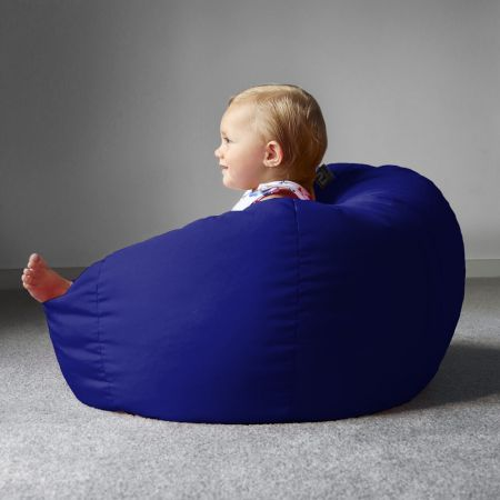 Trend Small Kids Beanbag In Royal Blue