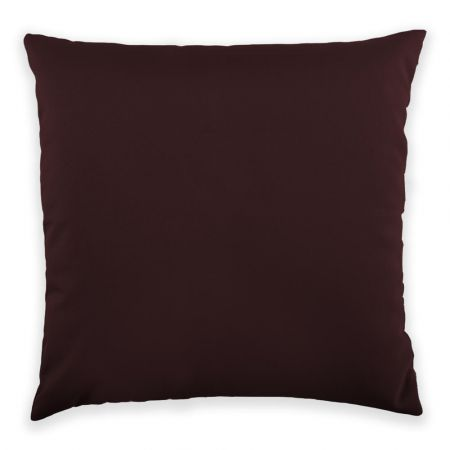 Trend 40x40cm Cushion Front View in Aubergine