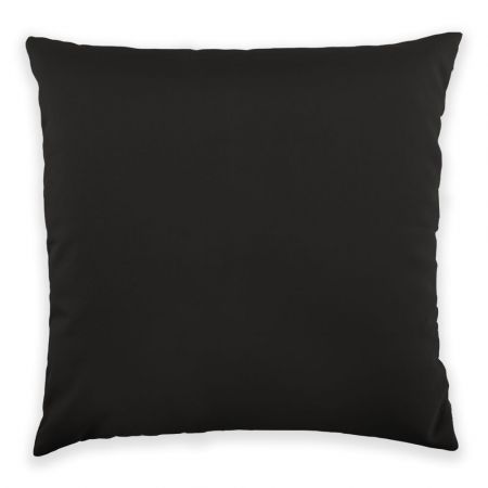 Trend 40x40cm Cushion Front View in Black