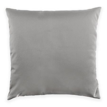 Trend 40x40cm Cushion Front View in Platinum Grey