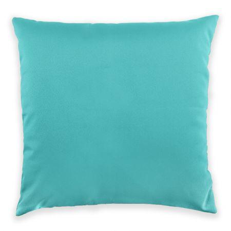 Trend 40x40cm Cushion Front View in Aquamarine