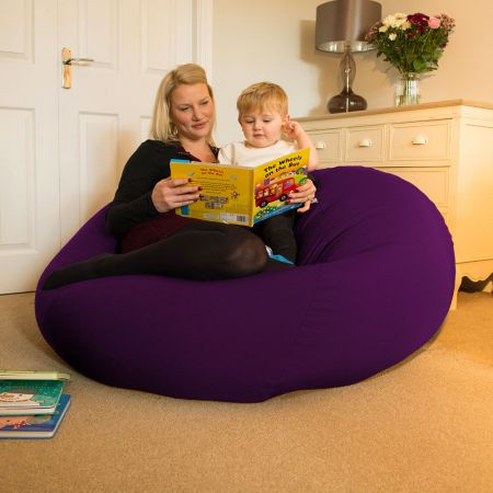 Huge Goliath Beanbag in Purple