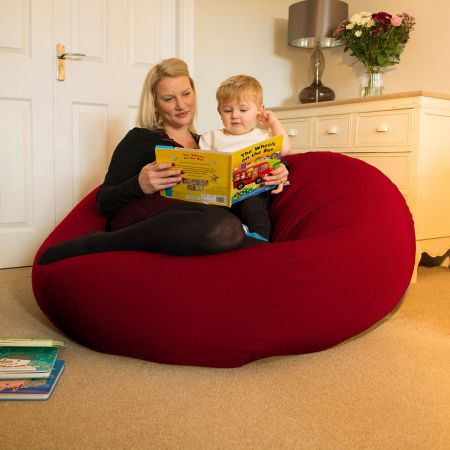Huge Goliath Beanbag in Red