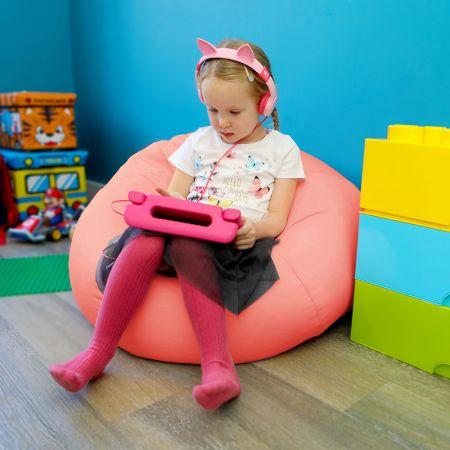 Comfy Kids Classic Coral Bean bag