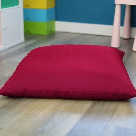 Cerise Pink Trend Adult Square Floor Cushion