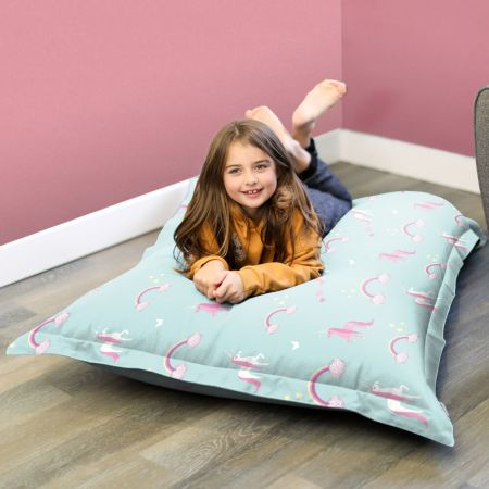 Large Unicorn Squarbie Kids Beanbag