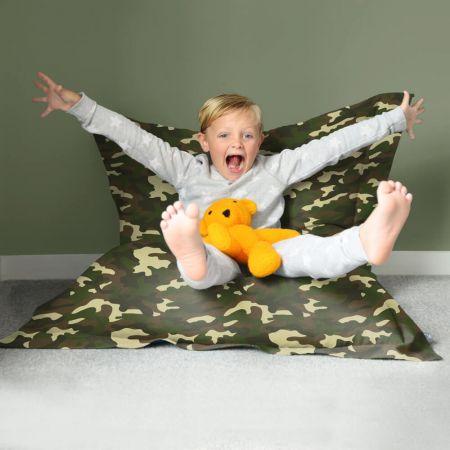Camouflage Squarbie - Large - Indoor/Outdoor