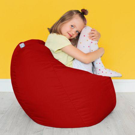 Comfy Kids Classic Red Bean bag
