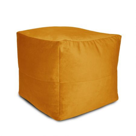 Velvet Origami Pouffe