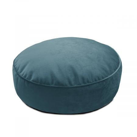 Velvet Round Floor Cushion