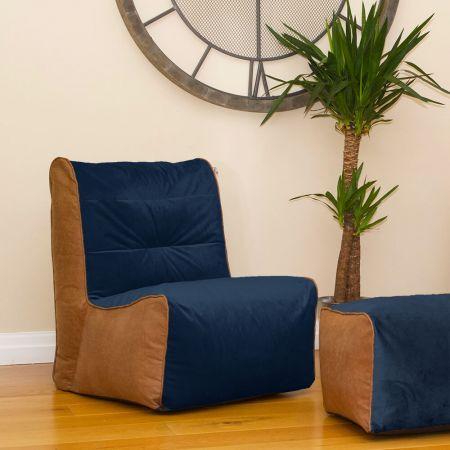 Busby Bean Bag Chair - Velvet