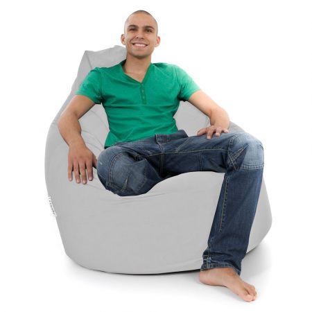 Whopper Bean Bag Chair - Trend - Platinum