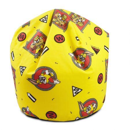 Bugs Bunny & Taz Yellow Handle Beanbag - Small