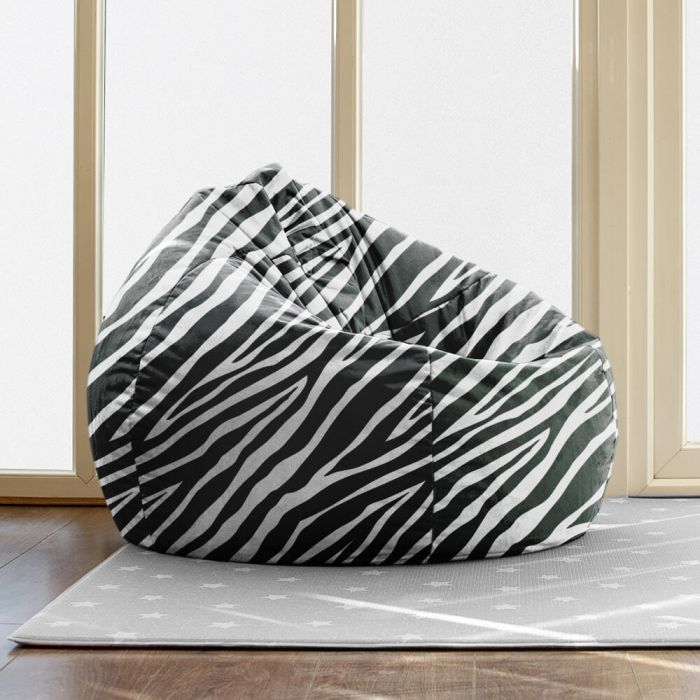 Incredible Slouchbag Beanbag Faux Suede Animal Print Pdpeps Interior Chair Design Pdpepsorg