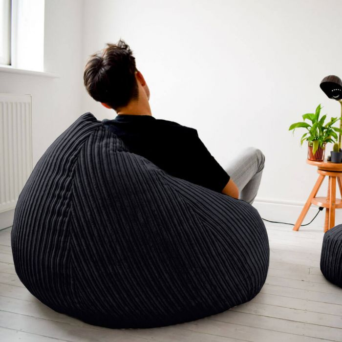 Admirable Slouchbag Bean Bag Jumbo Cord Ocoug Best Dining Table And Chair Ideas Images Ocougorg