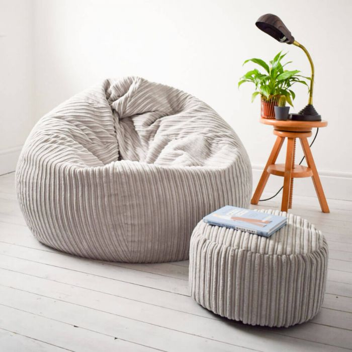 Admirable Slouchbag Bean Bag Jumbo Cord Unemploymentrelief Wooden Chair Designs For Living Room Unemploymentrelieforg