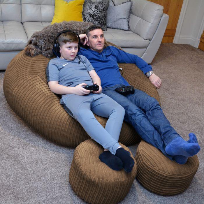 Incredible Xxl Jumbo Cord Goliath Bean Bag Rucomfy Beanbags Machost Co Dining Chair Design Ideas Machostcouk