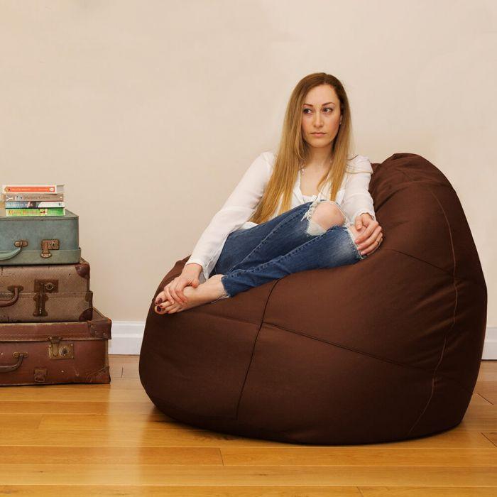 Strange Flob A Dob Bean Bag Real Leather Creativecarmelina Interior Chair Design Creativecarmelinacom