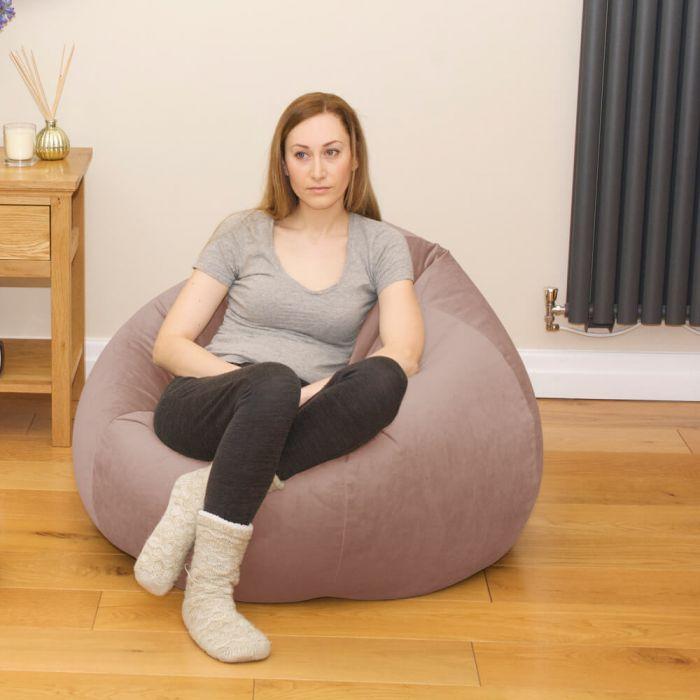 Strange Slouchbag Bean Bag Velvet Creativecarmelina Interior Chair Design Creativecarmelinacom