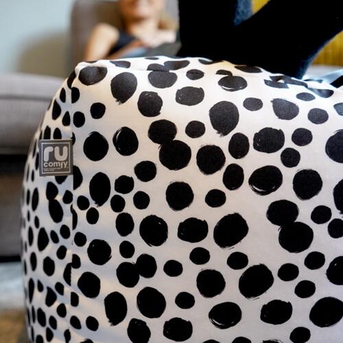 Dalmatian Spots Bean Cube fabricl